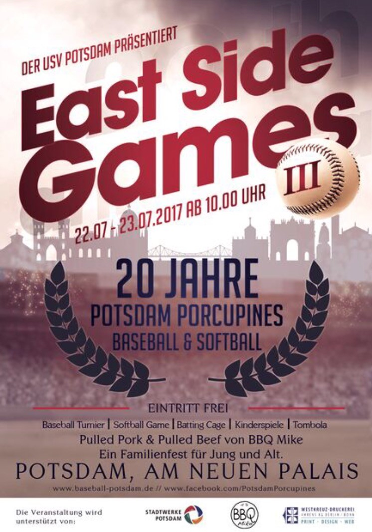 East Side Games in Potsdam